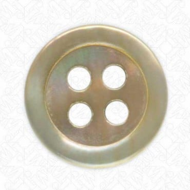 4-Hole Mother of Pearl Button
