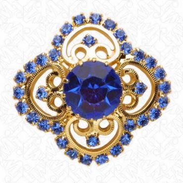 Renaissance Rhinestone Button