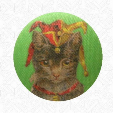 CAT BONNET BUTTON