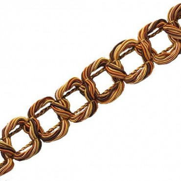 Twist Guimp Chain Braid