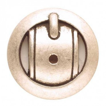 BUCKLE DESIGN BUTTON