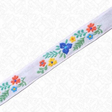 18MM IMPORTED FLORAL JACQUARD