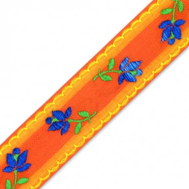 42MM IMPORTED FLORAL JACQUARD RIBBON