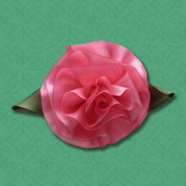 SMALL HANDMADE SILK FLOWER