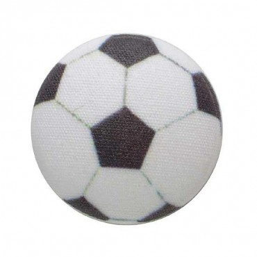 SOCCER BALL BUTTON - SOCCER BALL