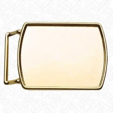 SMALL BUCKLE BLANK - GOLD