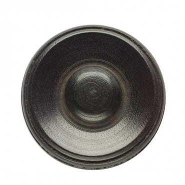 Ebony Wood Button with Shank