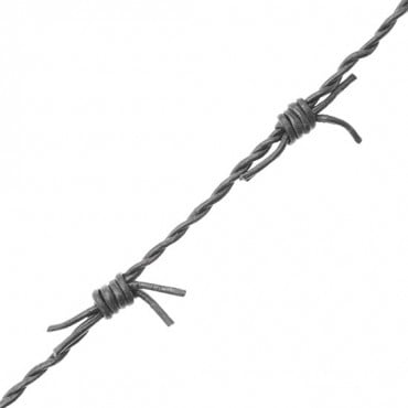 BARB WIRE LEATHER CORD