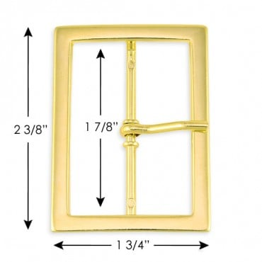"1 3/4"" x 2 3/8""  Rectangle Buckle"