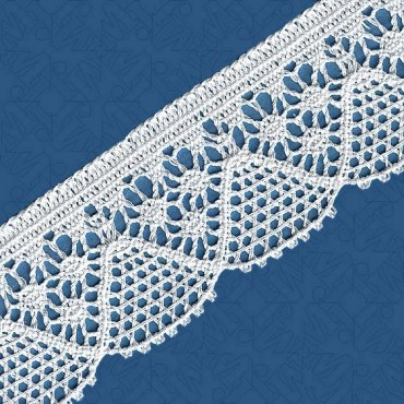 "2 1/4"" (64mm) Cluny Lace"