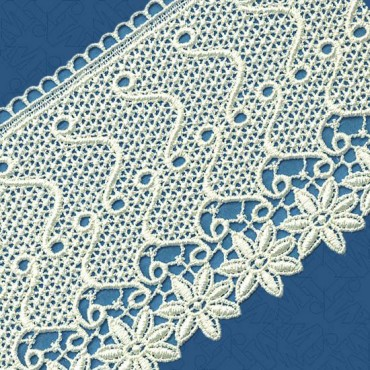 "4 1/2"" IMPORTED VENICE LACE"