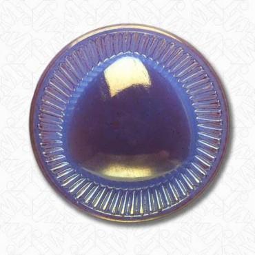Glass Triangle Button