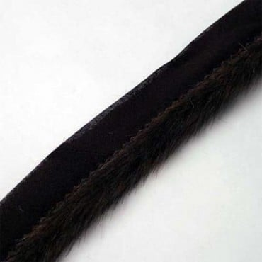 "1"" FAUX FUR CORDEDGE"