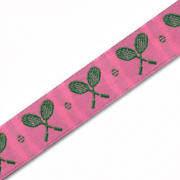 22MM  TENNIS RACQUET JACQUARD