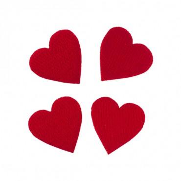 """1"""" Gambling Heart Appliques"""