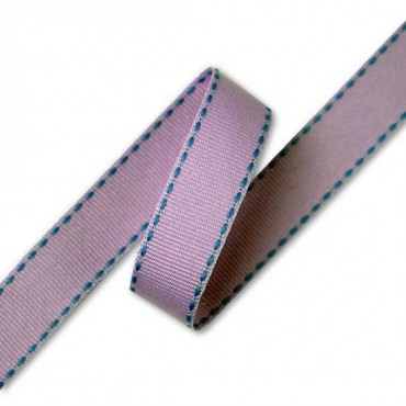 "5/8"" (16MM) FASHION STITCHED GROSGRAIN RIBBON"