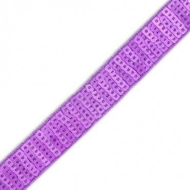 20MM MATTE SQUARE SEQUIN TAPE - LILAC