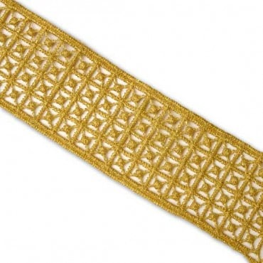 """1 1/4"""" (32mm) Embroidered Trim"""