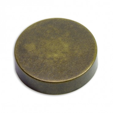 METAL BUTTON - ANTIQUE BRASS