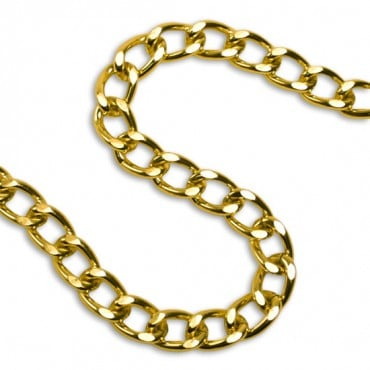 12MM METAL CHAINS - GOLD