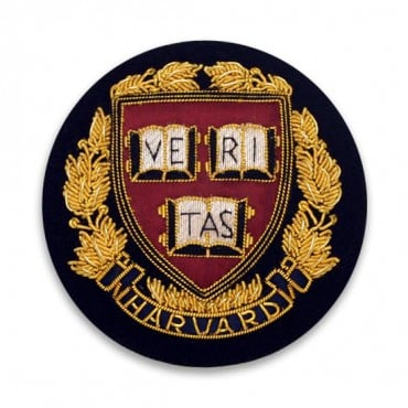 "2.75"" HARVARD BULLION CREST - GOLD MULTI"