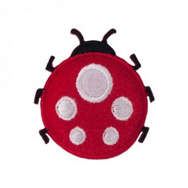 "1 1/4"" Puffy Ladybug Applique"