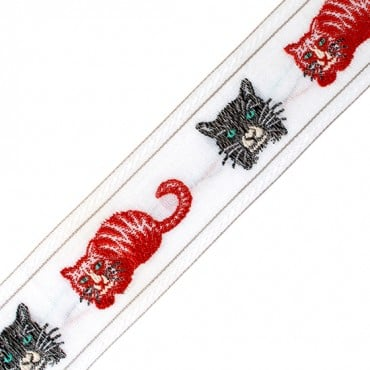 CAT RIBBON JACQUARD