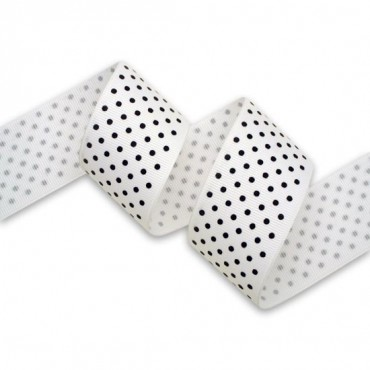 "1 1/2"" (38MM) GROSGRAIN FASHIONABLE POLKA DOT RIBBON"