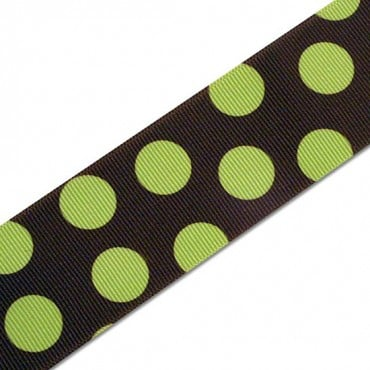 "1.5"" GROSGRAIN PLAYFUL POLKA DOTS RIBBON"