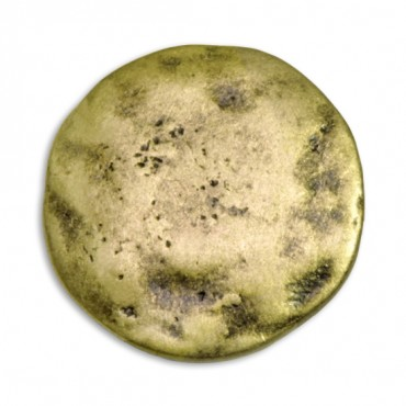 Hammered Metal Button