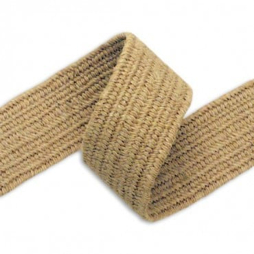 40mm Elastic Jute Braid