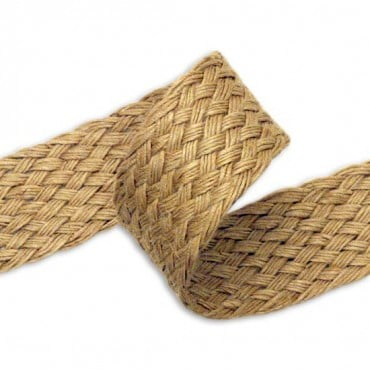36MM JUTE BRAID - DARK