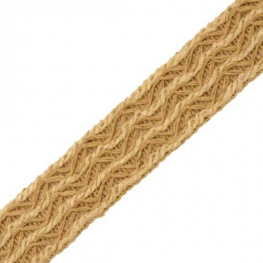 37mm Jute Knit Braid
