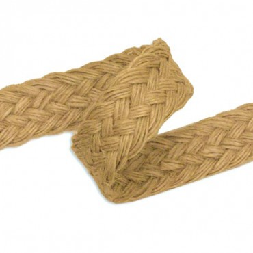 23MM JUTE BRAID - DARK