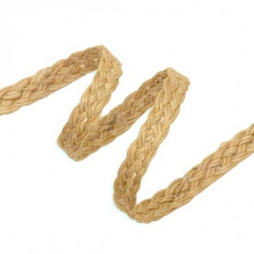 "1/4"" JUTE BRAID - DARK"