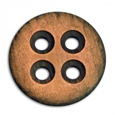 FASHION SCRATCH BUTTON 4-HOLES