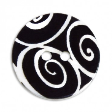 PRINTED RIVER SHELL BUTTON