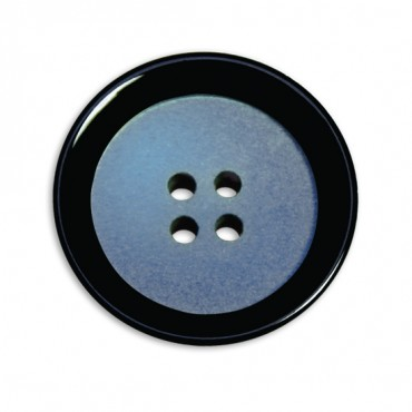Round Four-Hole Fashion Button with Lip