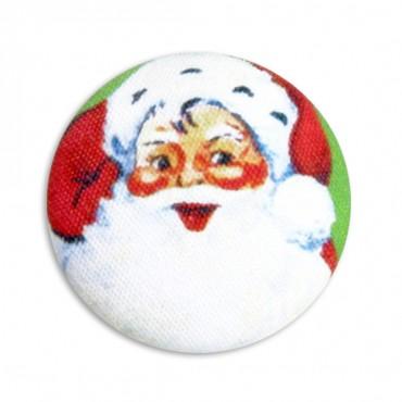 Modern Santa Button