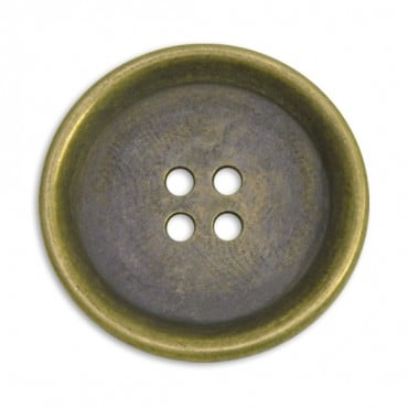 METALLIC FASHION BUTTON 4-HOLES