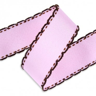 25MM LOOP STITCH GROSGRAIN RIBBON