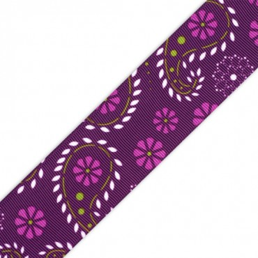 "1.5"" S/F PRETTY PAISLEY RIBBON"