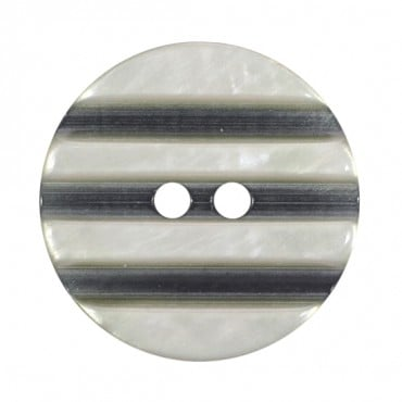 SOFT STRIPE FASHION BUTTON 2-HOLES