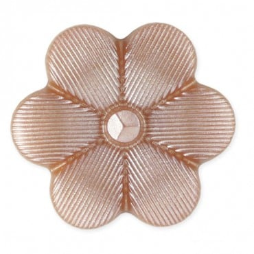 FLOWER SHAPE BUTTON WITH SHANK