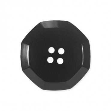 OCTAGONAL FASHION BUTTON 4-HOLES