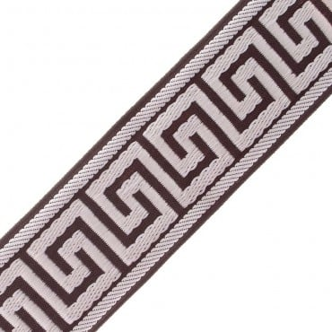"1 3/8"" (33MM) Greek Key Jacquard"