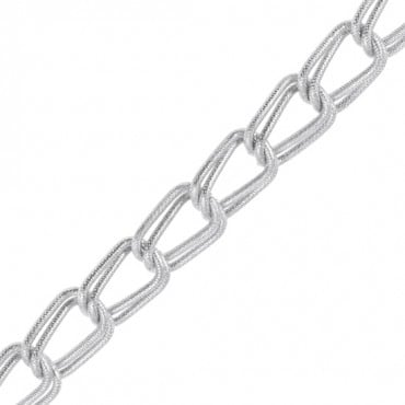 "3/4"" DOUBLE ALUMINUM CHAINS-All-NICKEL"