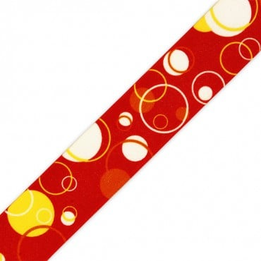 25MM BUBBLES PRINT ELASTIC
