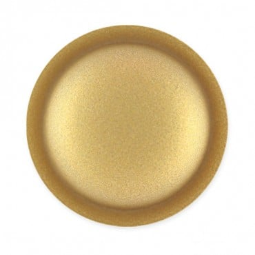 DOMED DISC FASHION BUTTON WITH SHANK