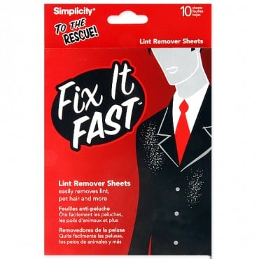 FIX IT FAST LINT REMOVER SHEET - WHITE